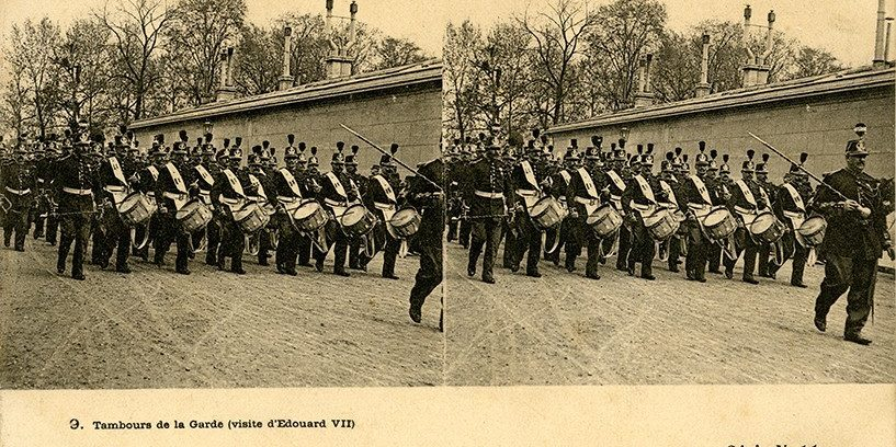 images stéréoscopiques Julien Damoy carte postale stéréoscopique Le Deley