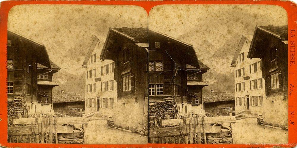 Images stéréoscopiques Ganz Johannes Glaris Sud