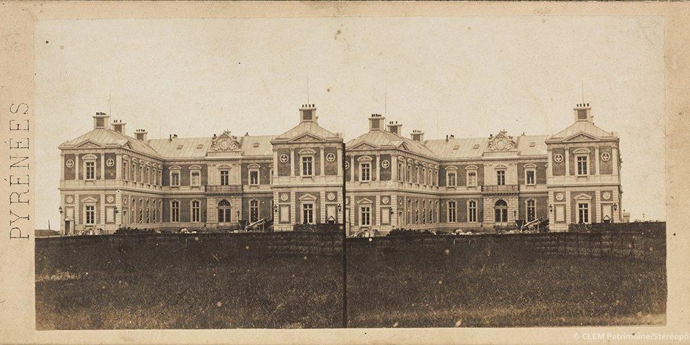 Images stéréoscopiques Gaudin Alexis et Frère Biarritz Villa Eugénie Bertrand Alexandre