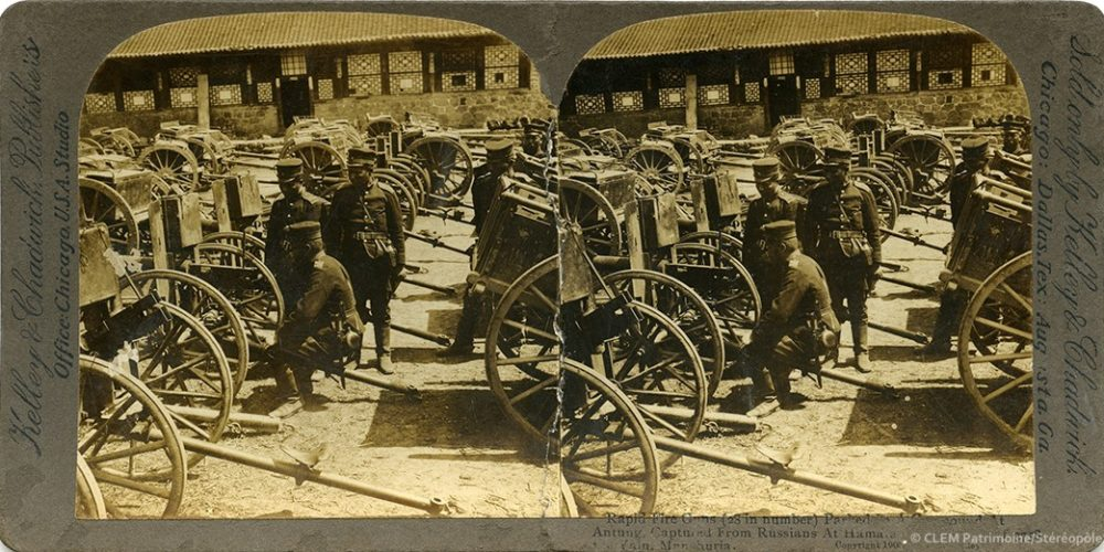 Images stéréoscopiques Kelley and Chadwick Dandong 1904