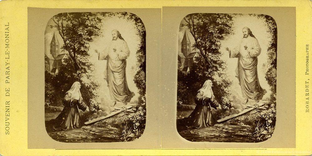 Images stéréoscopiques Robardet Alfred Paray-le-Monial