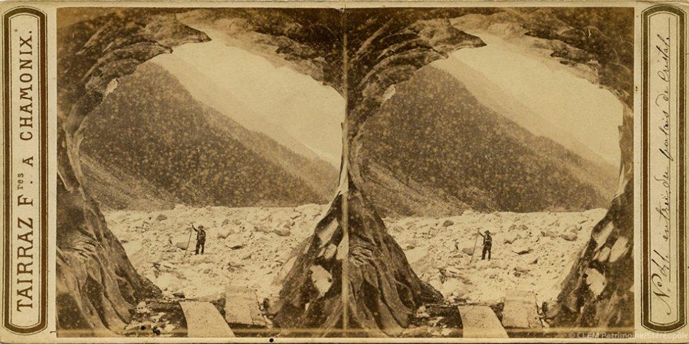 Images stéréoscopiques Tairraz et Compagnie 1863 Mont-Blanc
