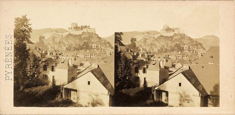 Images stéréoscopiques Gaudin Charles Lourdes 1858