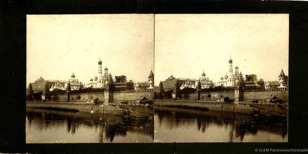 Images stéréoscopiques Zinkin et Demidov Kremlin