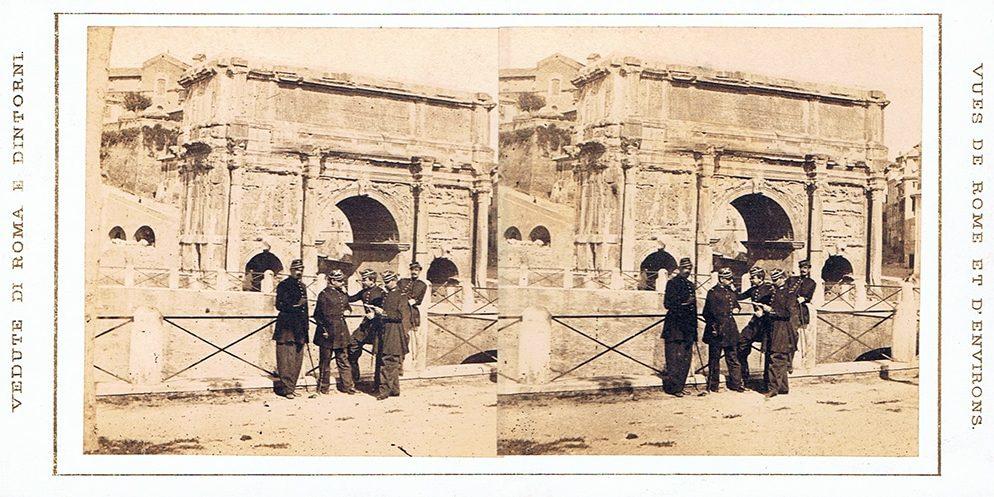Images stéréoscopiques Altobelli Gioacchino & Molins Pompeo Rome