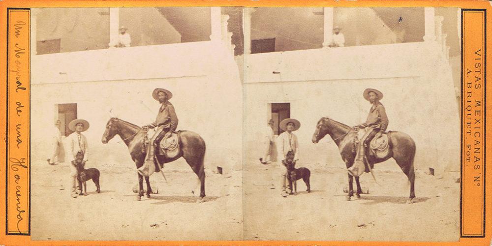 Images stéréoscopiques Briquet Alfred Mexique
